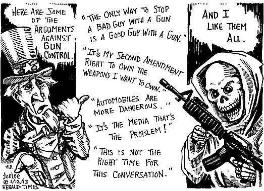 Refuting Anti Gun Control Arguments   The Progressive Cynic The Progressive Cynic g