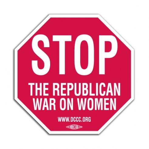 war-on-women-stop-sign