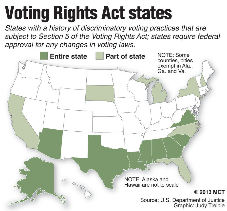 section 4 of the vra Vra section 4: by the time this battle is concluded, preclearance will return for those jurisdictions that repeatedly infringe on voting rights.