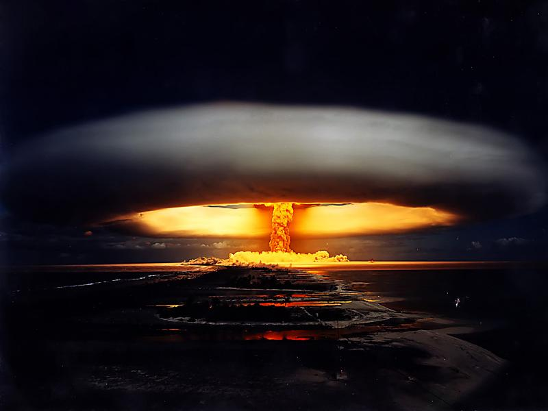tsar bom explosion