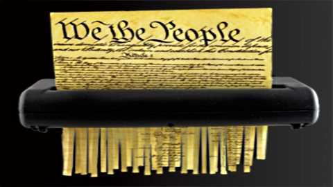 Shredding-the-Constitution
