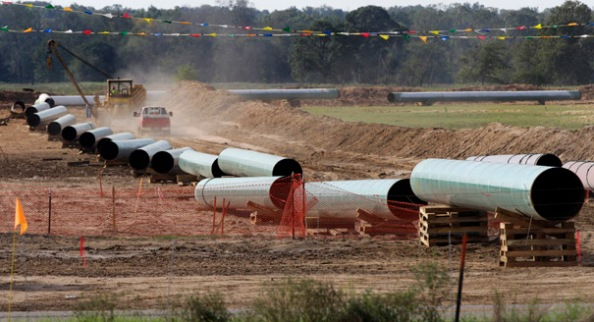 Keystone Pipeline Texas