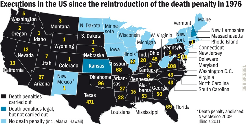 an overview of the strict laws of the united states and the concept of death penalty