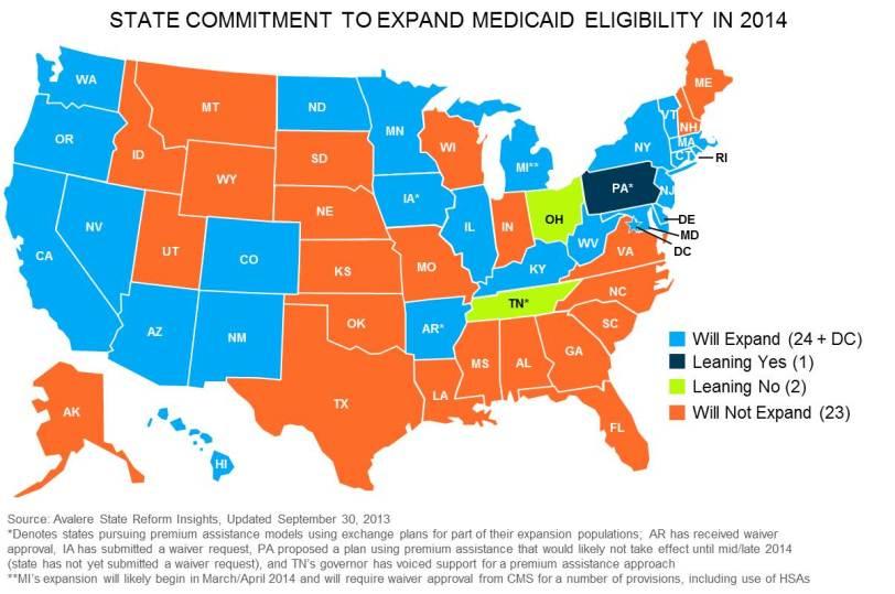 Medicaid Map
