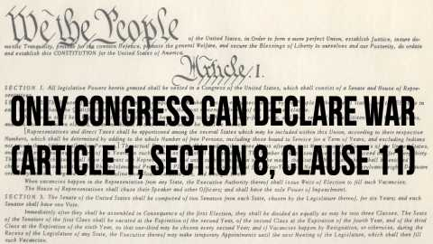 fsa1-only-congress-can-declare-war | The Progressive Cynic