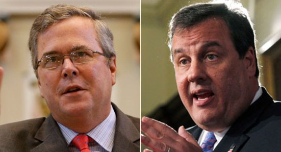 Foto24-Jeb-Bush-e-Chris-Christie