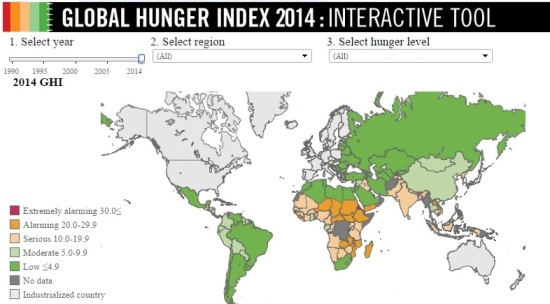 global hunger 2014