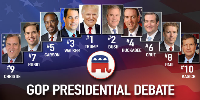 Dont Be Distracted Real Issues In >> Don T Get Distracted By Political Feuding The Gop Field Is Unified