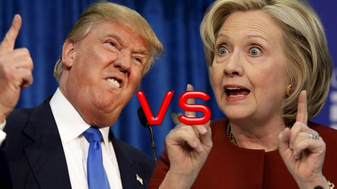 Image result for hilary trump debate farce