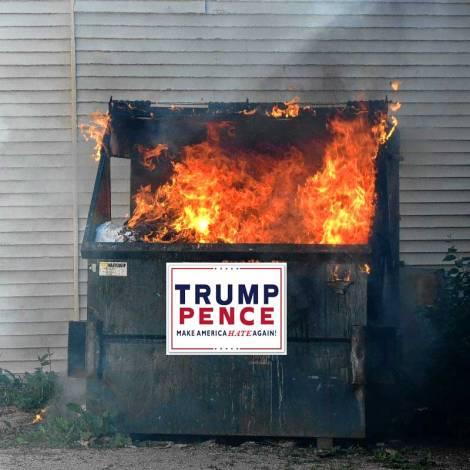 trumpster-fire